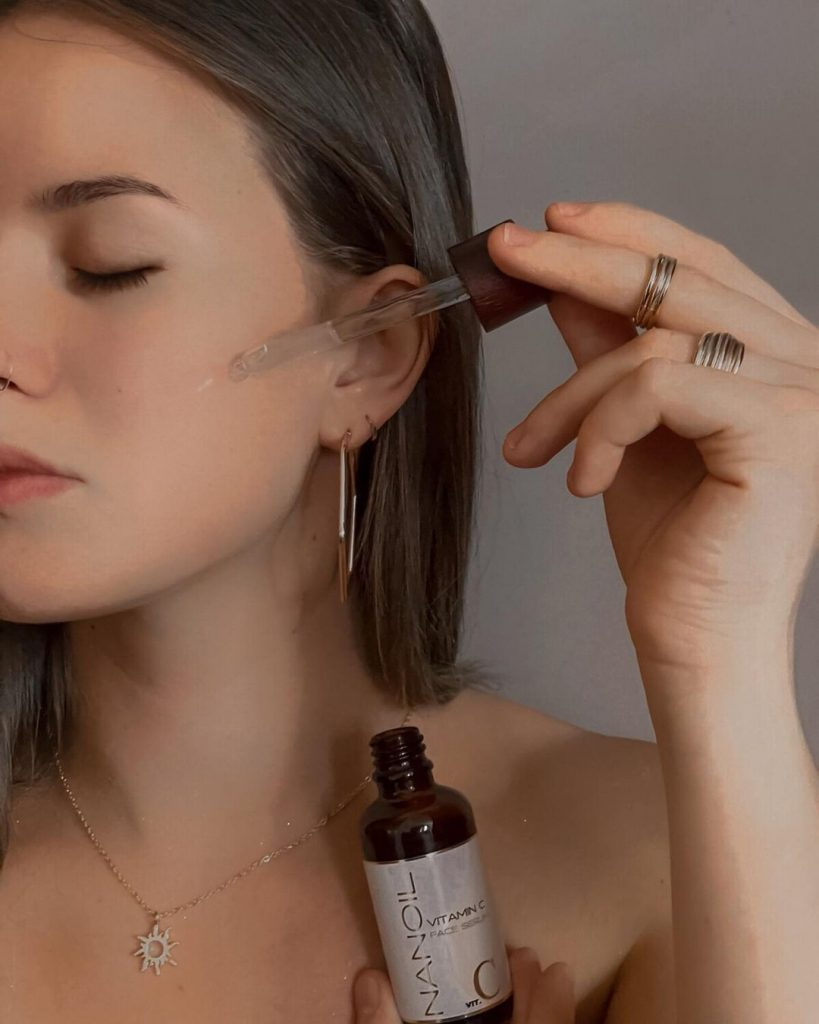 Nanoil recommended vitamin c face serum