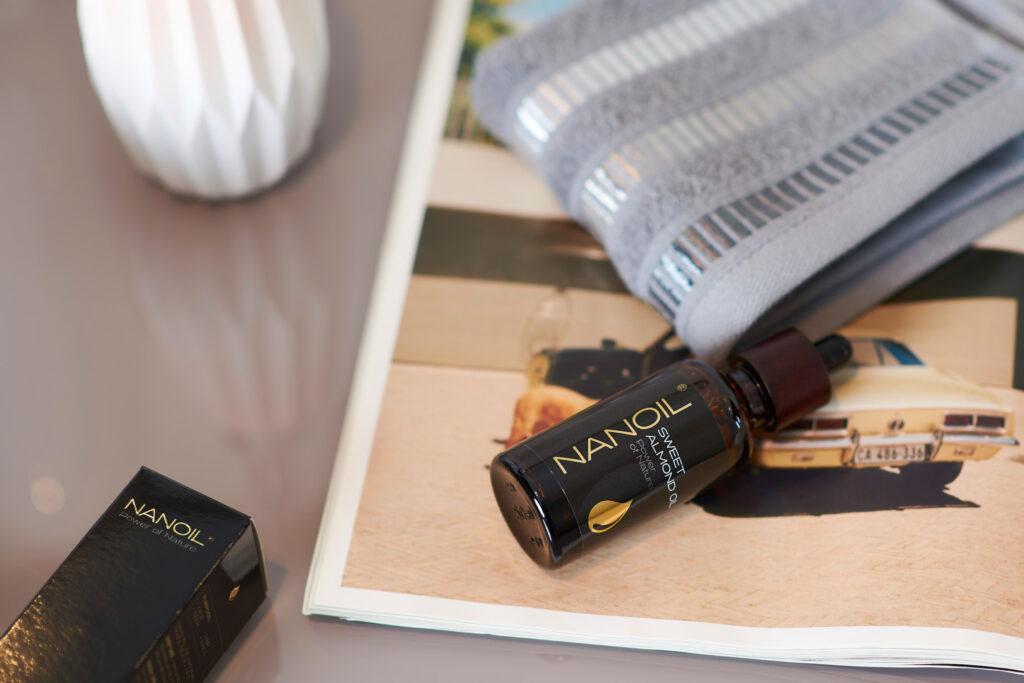 ideal oil - nanoil almond oil